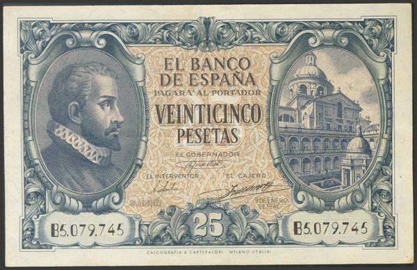 2227 - Billetes Españoles