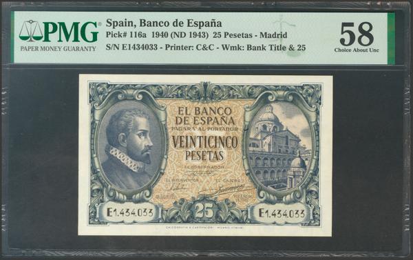 2228 - Billetes Españoles