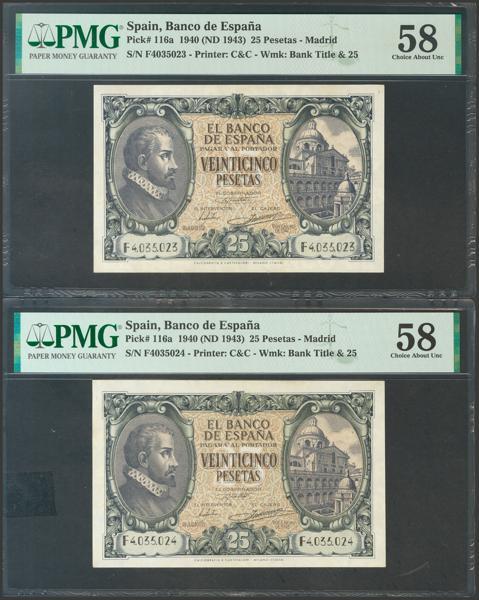 2230 - Billetes Españoles