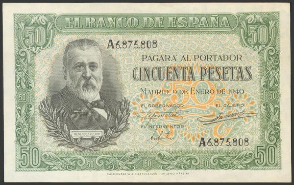 2231 - Billetes Españoles