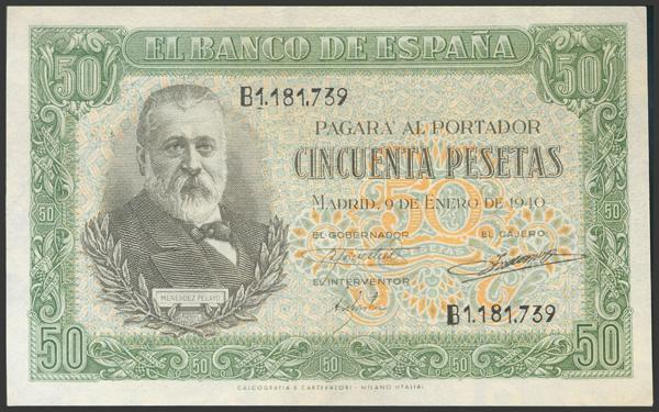 2232 - Billetes Españoles