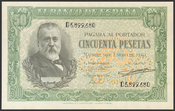 2233 - Billetes Españoles