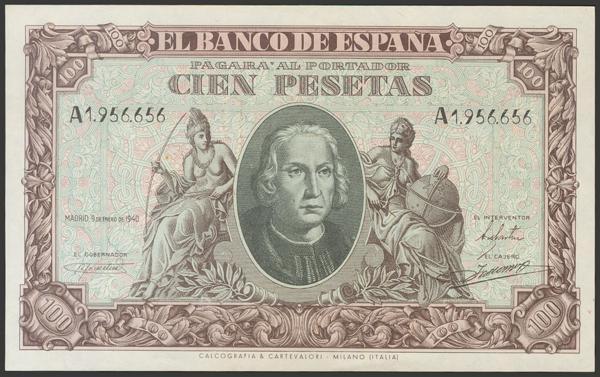 2234 - Billetes Españoles