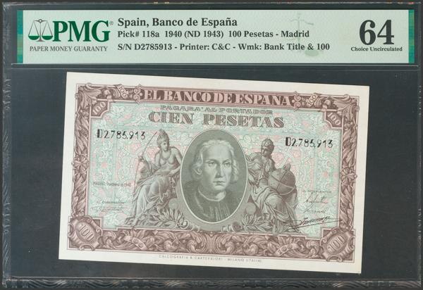 2236 - Billetes Españoles
