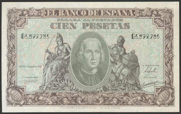 2238 - Billetes Españoles