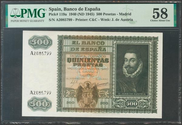 2239 - Billetes Españoles