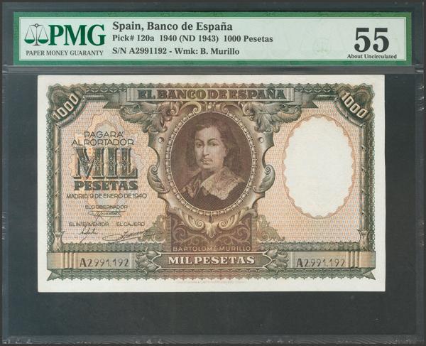 2240 - Billetes Españoles