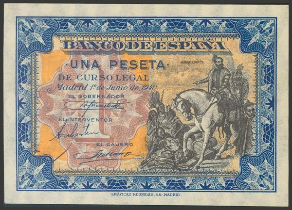 2242 - Billetes Españoles