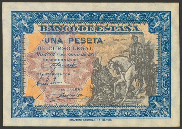 2244 - Billetes Españoles