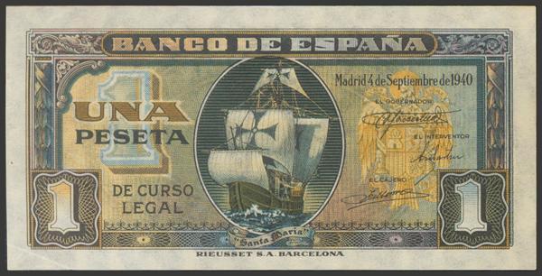 2246 - Billetes Españoles