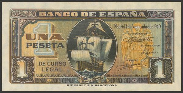 2247 - Billetes Españoles