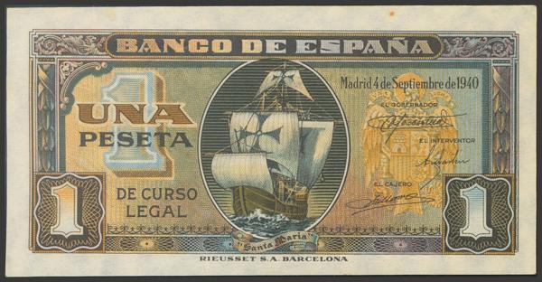2248 - Billetes Españoles