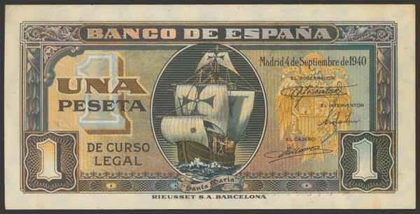 2249 - Billetes Españoles