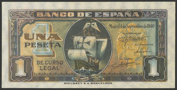 2250 - Billetes Españoles