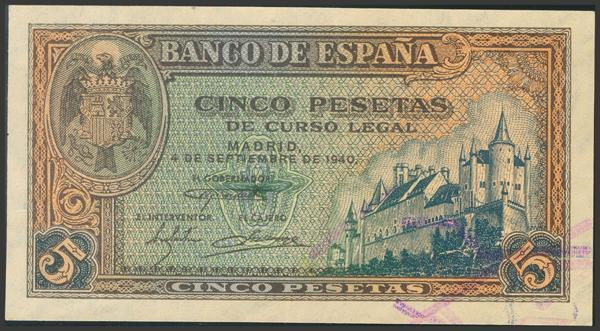 2252 - Billetes Españoles