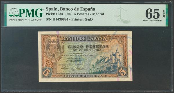 2253 - Billetes Españoles