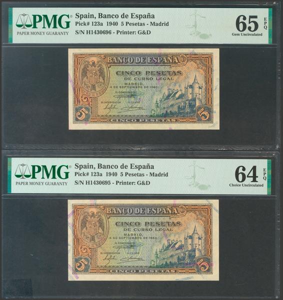 2254 - Billetes Españoles