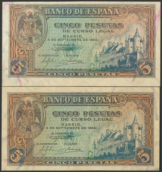 2255 - Billetes Españoles