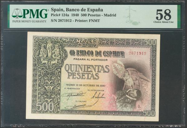 2257 - Billetes Españoles