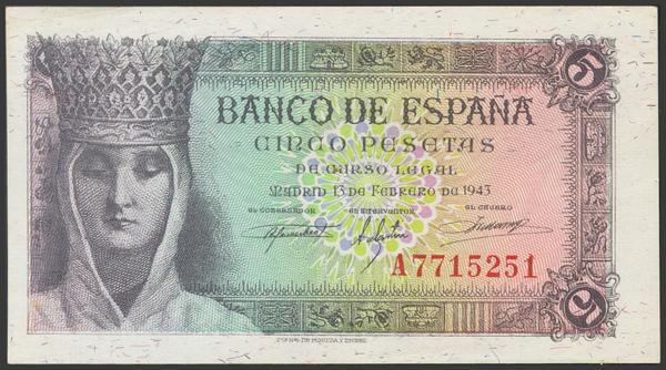 2261 - Billetes Españoles