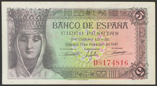 2262 - Billetes Españoles