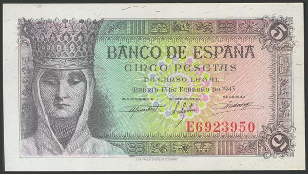 2263 - Billetes Españoles