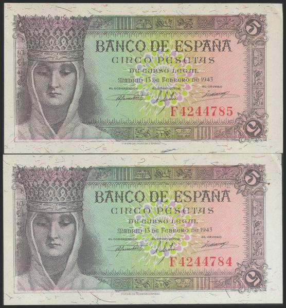2268 - Billetes Españoles