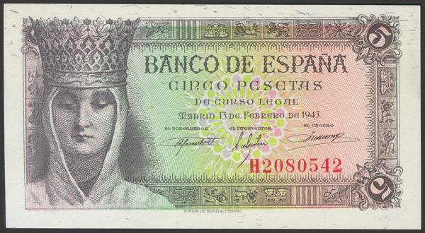 2269 - Billetes Españoles