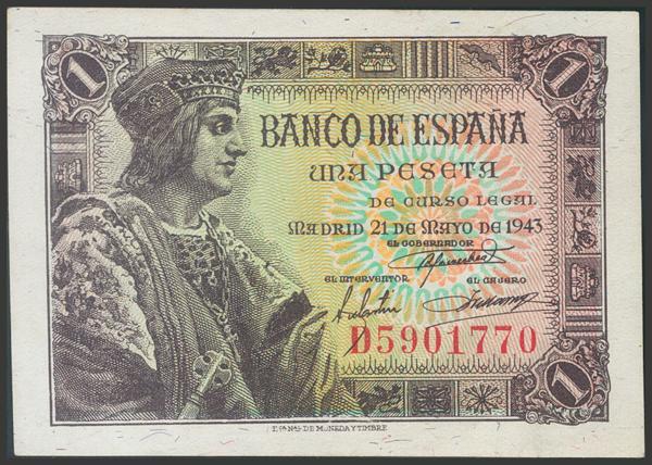2270 - Billetes Españoles