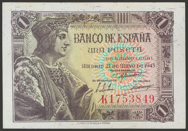 2272 - Billetes Españoles