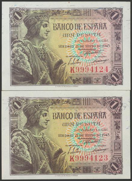 2273 - Billetes Españoles
