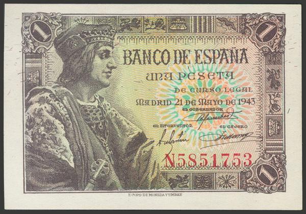 2274 - Billetes Españoles