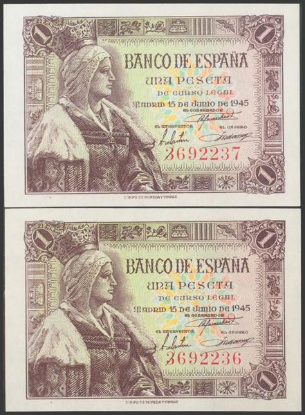 2275 - Billetes Españoles