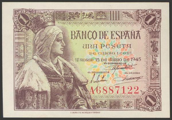 2276 - Billetes Españoles