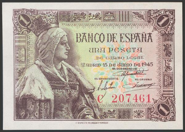2277 - Billetes Españoles