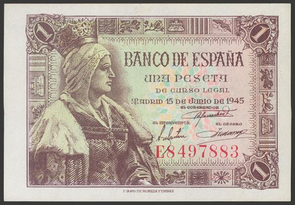 2278 - Billetes Españoles