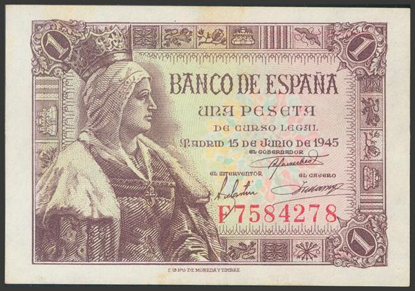 2279 - Billetes Españoles