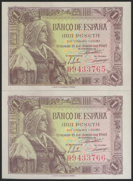 2281 - Billetes Españoles
