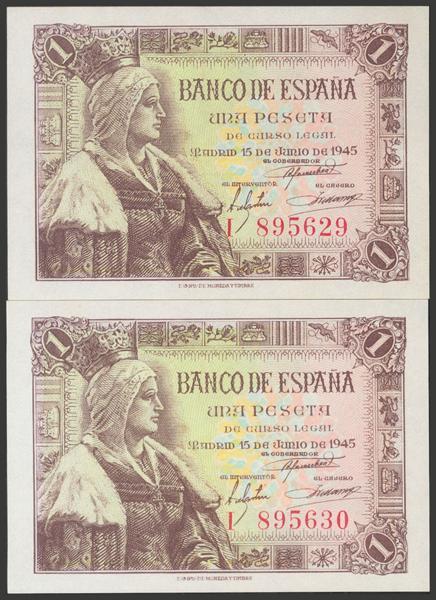 2282 - Billetes Españoles