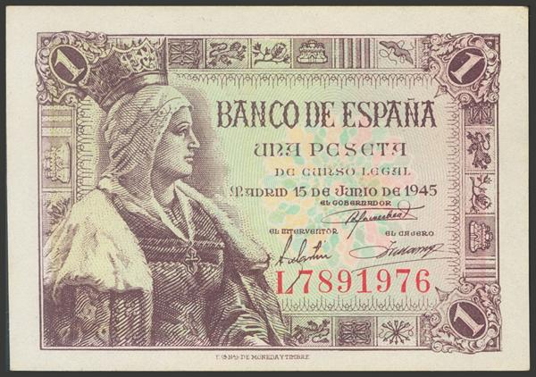 2283 - Billetes Españoles