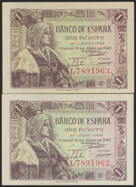 2284 - Billetes Españoles