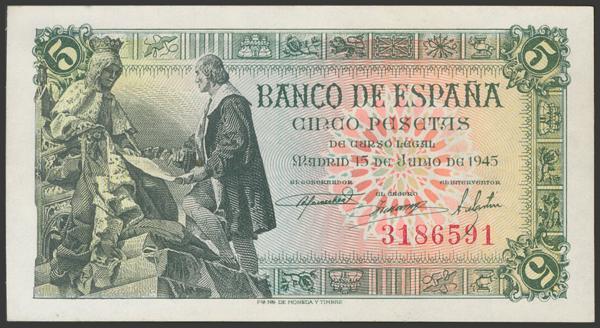 2286 - Billetes Españoles