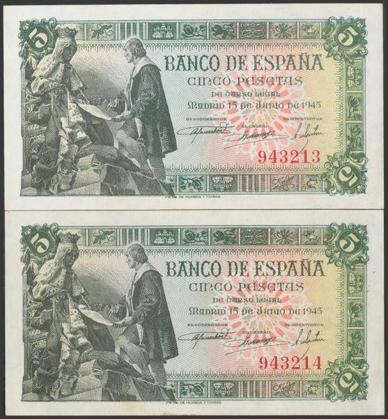 2287 - Billetes Españoles