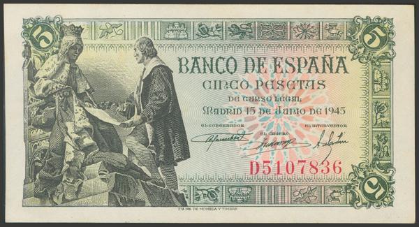 2289 - Billetes Españoles