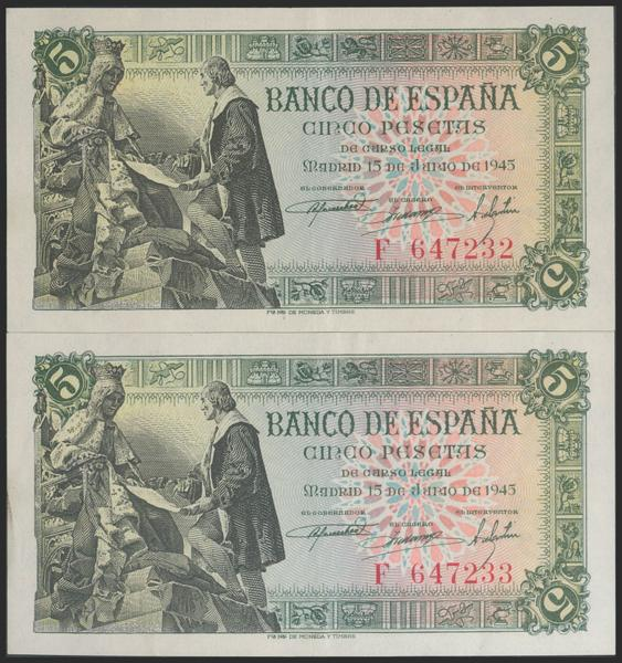 2290 - Billetes Españoles
