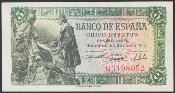 2291 - Billetes Españoles