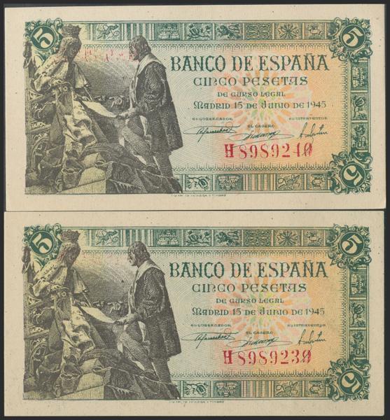 2293 - Billetes Españoles