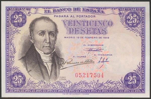 2295 - Billetes Españoles