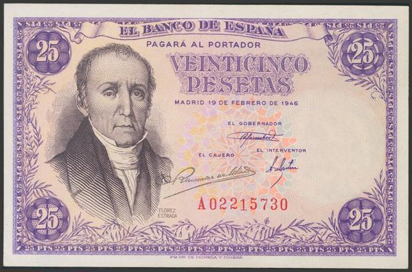 2298 - Billetes Españoles