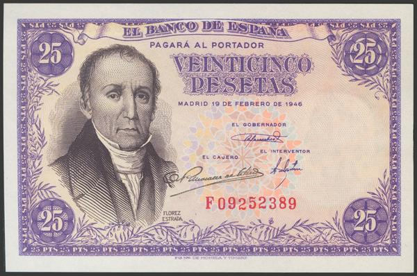 2302 - Billetes Españoles